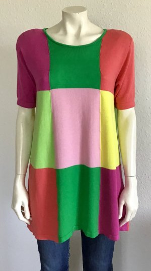Marc Cain Short Sleeve Sweater multicolored