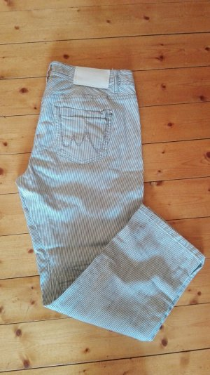 Marc Cain kurze Jeans Ankle gestreift