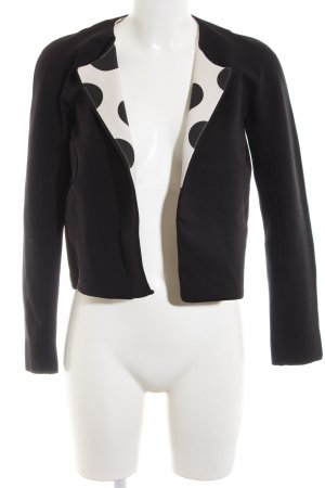 Marc Cain Short Jacket black-white casual look