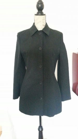 Marc Cain Long Jacket black mixture fibre