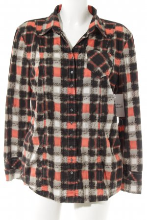 Marc Cain Langarm-Bluse abstraktes Muster Casual-Look