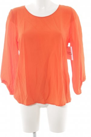 Marc Cain Langarm-Bluse hellrot Casual-Look