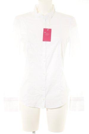 Marc Cain Shirt met lange mouwen wit zakelijke stijl