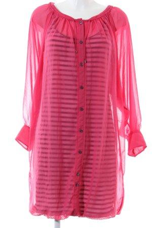 Marc Cain Langarmkleid pink Casual-Look