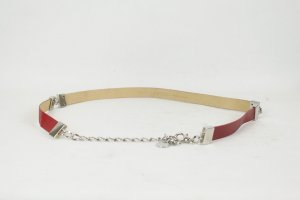 Marc Cain Belt neon red leather