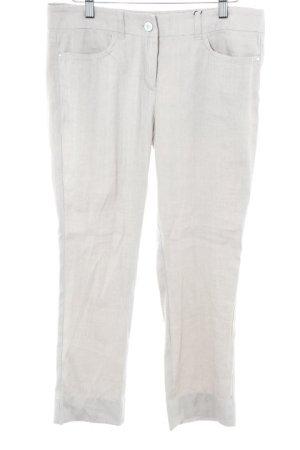 Marc Cain Pantalone di lino beige chiaro stile casual