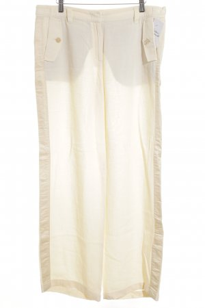 Marc Cain Leinenhose wollweiß-creme Casual-Look