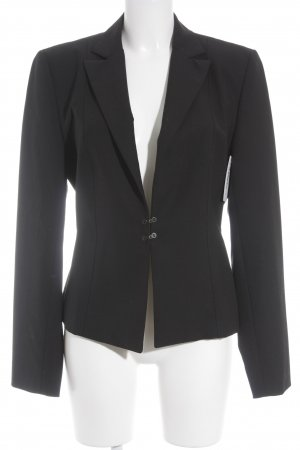 Marc Cain Long-Blazer schwarz Business-Look