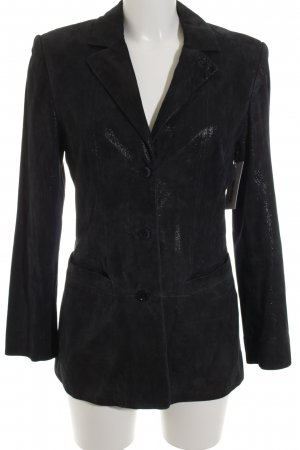 Marc Cain Long-Blazer schwarz Casual-Look