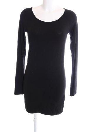 Marc Cain Camisa larga negro estilo «business»