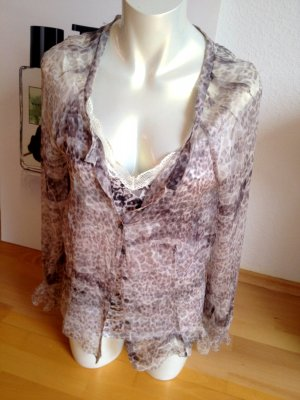 Marc Cain Marccain Bluse mit Top, Gr 5