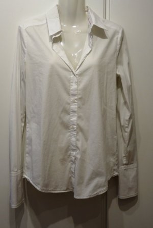 Marc Cain MARCCAIN stylishe weiße Bluse Gr. N2 (36/38)