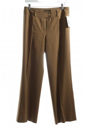 Marc Cain Marlene Trousers beige Braid trimming