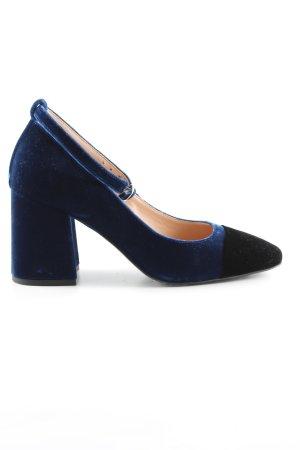 Marc Cain Mary Jane Pumps dunkelblau-schwarz Elegant