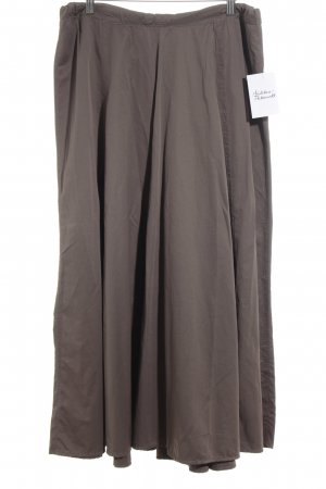 Marc Cain Maxi rok lichtbruin vintage uitstraling