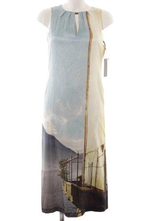Marc Cain Robe mi-longue imprimé avec thème élégant