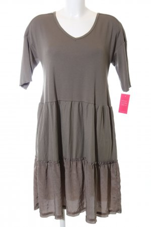 Marc Cain Mini Dress bronze-colored casual look