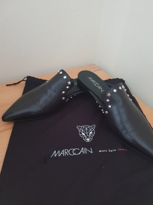 Marc Cain Sabots black-silver-colored