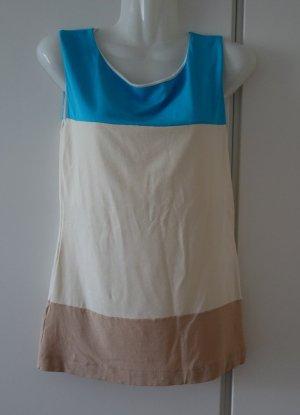 Marc Cain New York Colour Blocking Shirt Gr. S (36/38) Retro Chic Street Wear