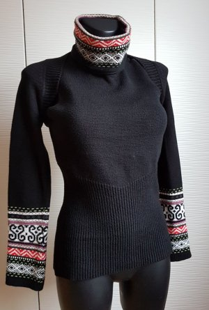 Marc Cain Norweger Twin Set- Kurz Bolero mit Armlos Rollkragen Top- 38/40