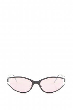 Marc Cain ovale Sonnenbrille pink-schwarz Casual-Look