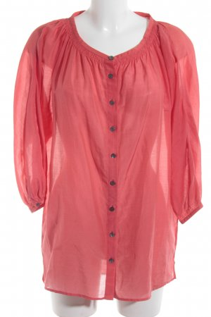 Marc Cain Oversized Bluse hellrot Casual-Look