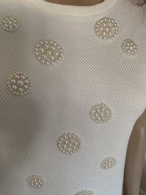 Marc Cain Perlen Shirt N3 100%Baumwolle neu ohne Edikett