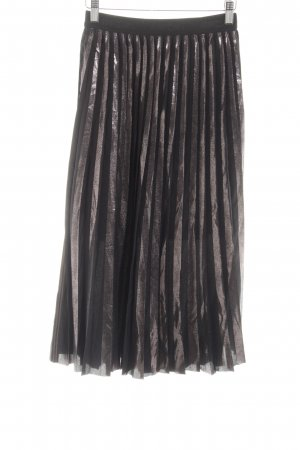 Marc Cain Pleated Skirt bronze-colored casual look