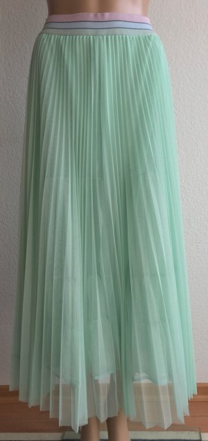 Marc Cain Pleated Skirt mint polyester