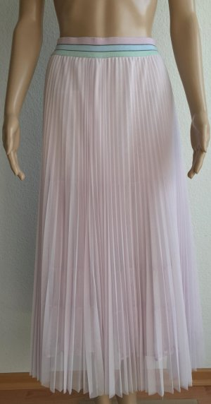 Marc Cain Pleated Skirt pink polyester
