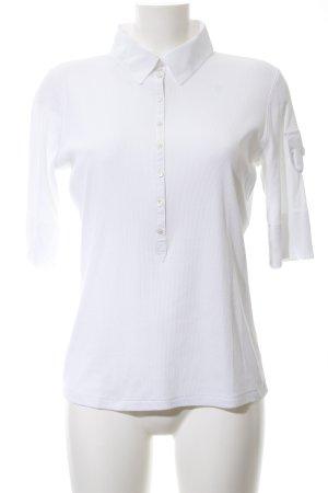 Marc Cain Camiseta tipo polo blanco look casual