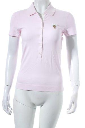 Marc Cain Polo-Shirt hellrosa schlichter Stil