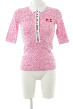 Marc Cain Polo-Shirt rosé-pink Leomuster sportlicher Stil