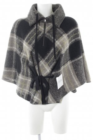 Marc Cain Poncho Karomuster Casual-Look