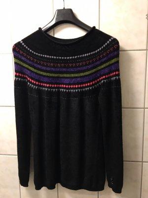 Marc Cain Norwegian Sweater black