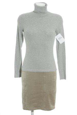 Marc Cain Sweater Dress green grey-light grey flecked casual look