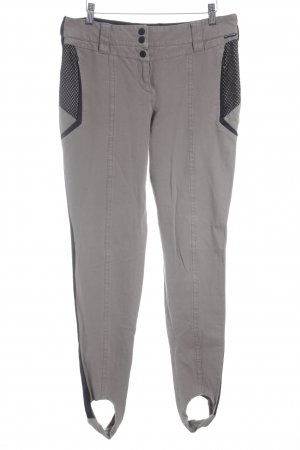 Marc Cain Riding Trousers black-light brown athletic style