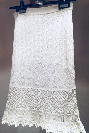 Marc Cain Jupe tricotée blanc
