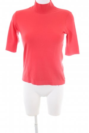 Marc Cain Turtleneck Shirt red business style