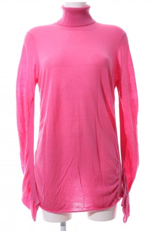 Marc Cain Colshirt roze casual uitstraling