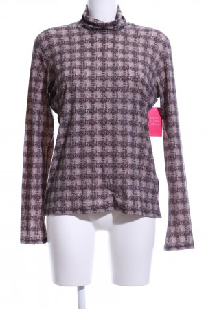 Marc Cain Turtleneck Shirt check pattern casual look