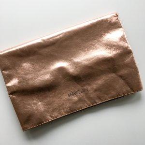 Marc Cain Rosegoldene Paperbag Clutch