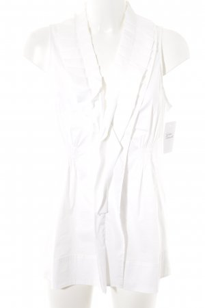 Marc Cain Frill Top white casual look