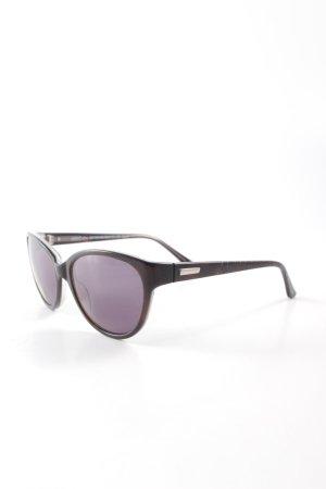 Marc Cain runde Sonnenbrille dunkelbraun Casual-Look