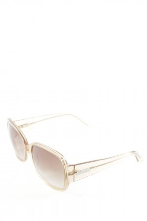 Marc Cain Round Sunglasses nude casual look