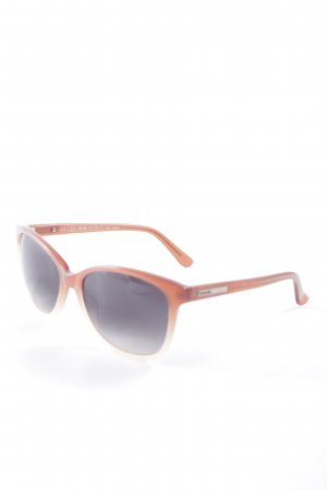 Marc Cain runde Sonnenbrille wollweiß-apricot Casual-Look