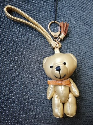 Marc Cain Key Chain gold-colored polyester