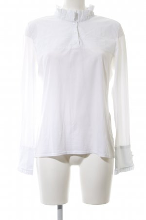 Marc Cain Slip-over Blouse white business style