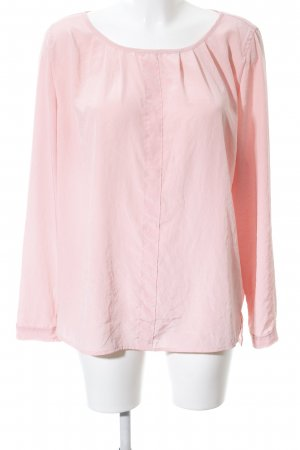 Marc Cain Slip-over blouse roze casual uitstraling