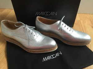 Marc Cain Schnür-Schuhe in silber NEU